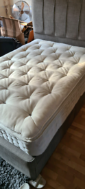 Double devan bed and mattress