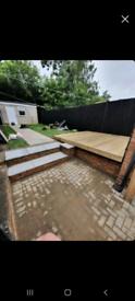 Fencing gardening patio cleaning driveway jet washing laminate floorin