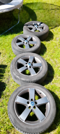 Alloy wheels 5x108 Ford / Volvo fitment