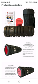Foam Roller 2 in 1 body massager