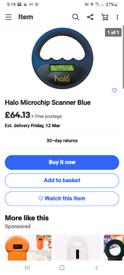 Brand new halo microchip scanner reader