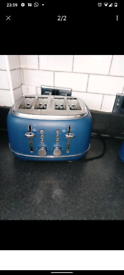 Navy kettle toaster 3cannisters utensel tin