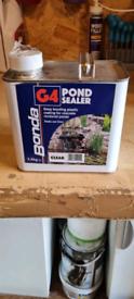 Pond sealer.