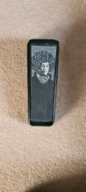 Jimi hendrix cry baby wah guitar effects peddle