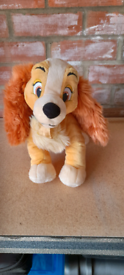 Disney soft toy 'Lady' from Lady and the Tramp