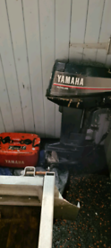 20hp yamaha outboard auto-lube long shaft