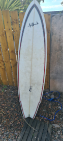 Surfboard used once