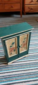 Ornamental storage cabinet