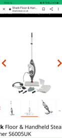 Shark Floor & Handheld Steam Cleaner