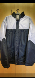 New Adidas Football Sport Jacket Coat with lable FREE LOCAL DELIVERY