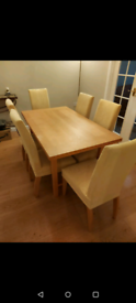 Extendable Dining Table and 6 Chairs REDUCED !!!