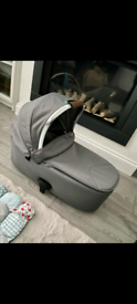 Occaro Carry Cot Fossil Grey