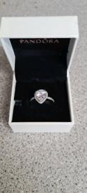 New Pandora teardrop ring size 54.