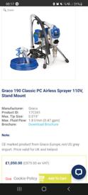 Airless sprayer