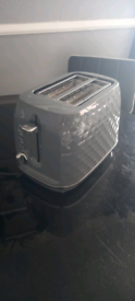 Grey toaster