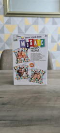 Make your own mosaic photo frames new