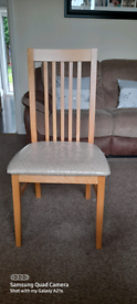 4 × Dining chairs