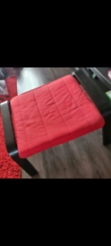 Ikea foot stool Red Dismantled