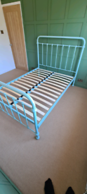 Feather & Black 'Oliver' double bed frame