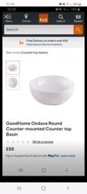 Ceramic Basin/Sink (Brand New)