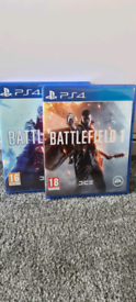 Battlefield V and Battlefield 1 for PS4