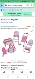 Pretend play baby items