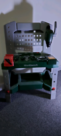 Bosch kids work bench and tools