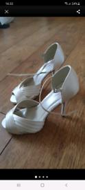 John Lewis new satin heels 4