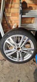 Audi A3 sline alloy wheel