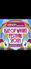 Isle of wight Festival tickets x2