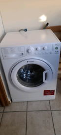 Hotpoint Aquarius 6kg washing machine 1 year old