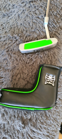 2 Putters. 1 x GTX Blade and 1 X Lynx as new both