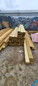 Decking boards 3m x 120mm x 28mm
