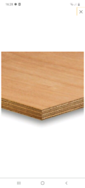 Plywood 18mm 6x4 boards