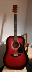 Acoustic guitar of Falcon, nice sound and color