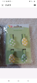 Brand new Easter pegs