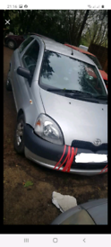 Toyota yaris 1.0 vvti engine and gearbox breaking parts spares