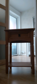PINE CONSOLE TABLE.