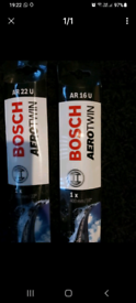 new bosch car wipers