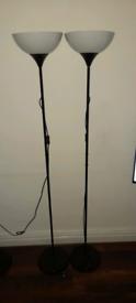 Free standing floor lights