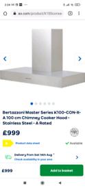 Chimney cooker hood
