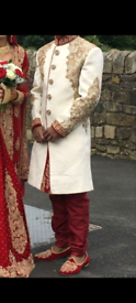 Asian mens wedding sherwani