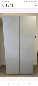 Ikea pax double wardrobe