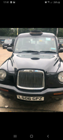 London Taxi TX2 2006 TFL plated