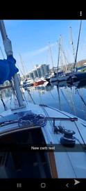 Freedom 21 sailing yacht
