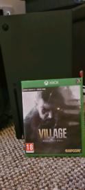 Xbox one/series X Resident Evil Village