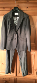 Dark grey suit, size 12