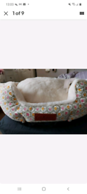 Small cath kidson dog bed COMFORT INNER PET BED