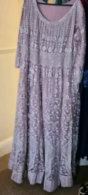 Asian style maxi dress