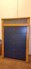 Set of 1990s IKEA set of drawers/ tallboy - 1990s Retro furniture